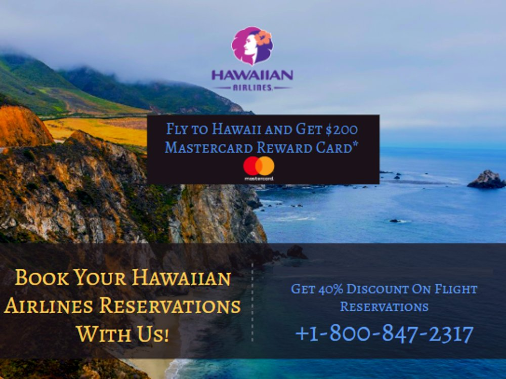 Hawaiian Airlines Reservations +1-855-948-3805 Phone ...